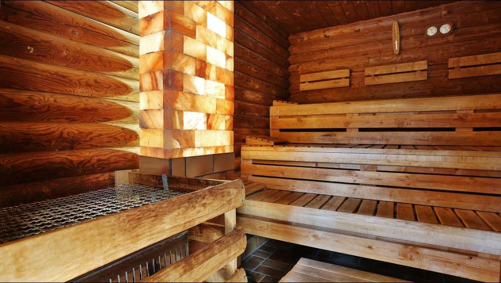 Blockhaus Sauna – NIPPON FITNESS